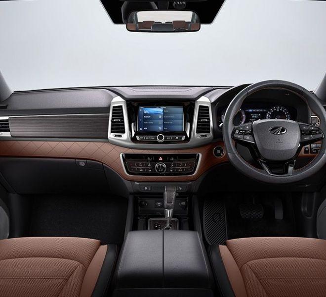 Automotive Mahindra Alturas G4 Interior-1