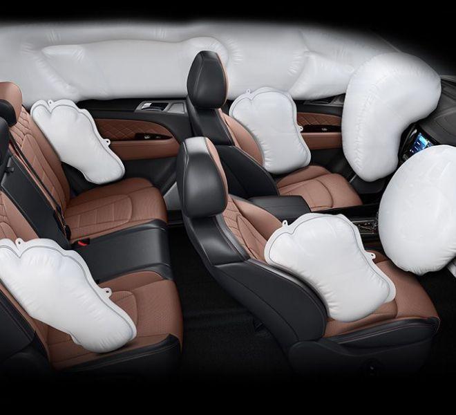Automotive Mahindra Alturas G4 Interior-7