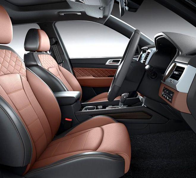 Automotive Mahindra Alturas G4 Interior-9