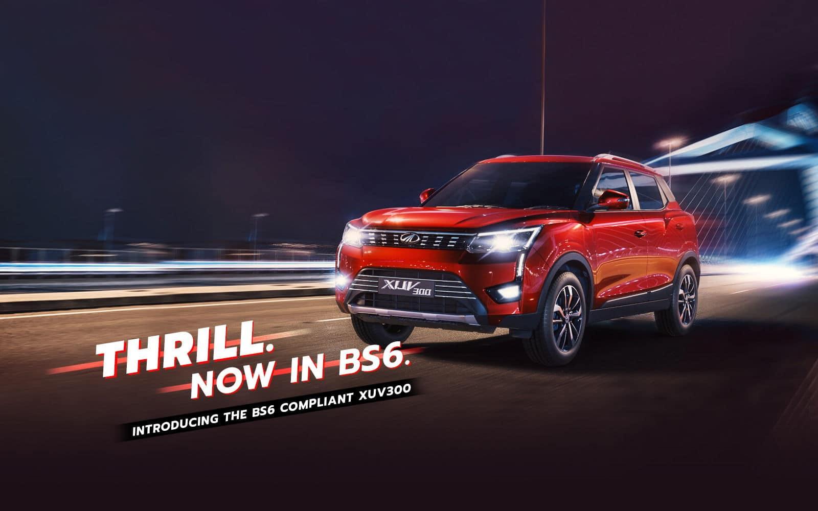 Mahindra XUV300 Promotional Banner